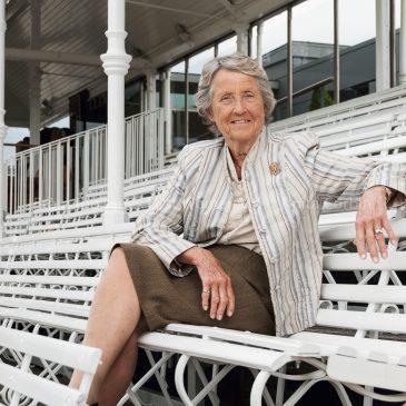 Baroness Rachael Heyhoe Flint OBE DL