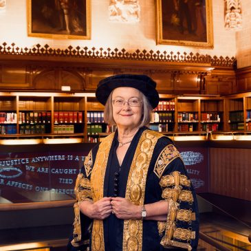 Lady Brenda Hale, the Rt. Hon. Baroness Hale of Richmond DBE PC FBA