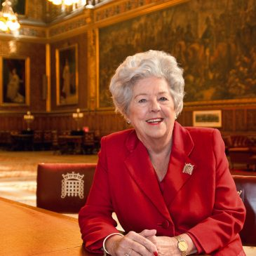 The Rt. Hon. Baroness Betty Boothroyd OM PC